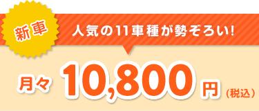 月々10,000円(税別)